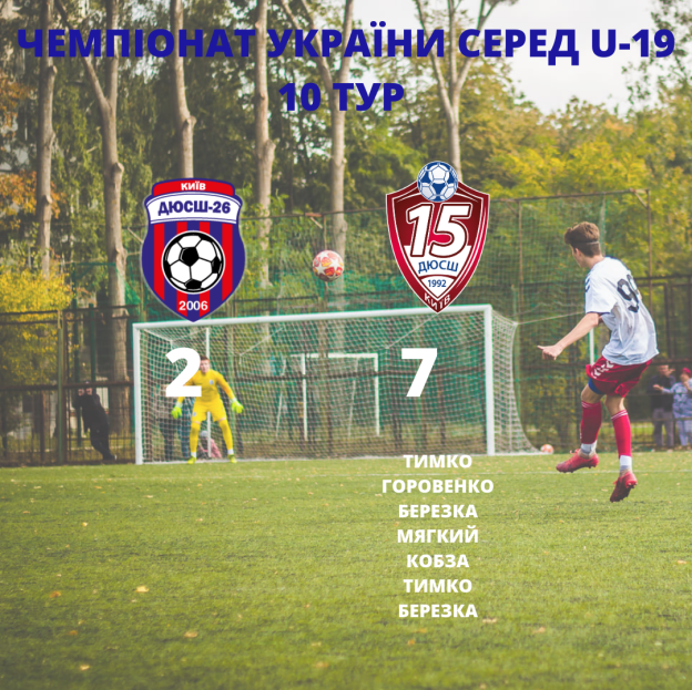 Чемпіонат України серед U-19 10 ТУР