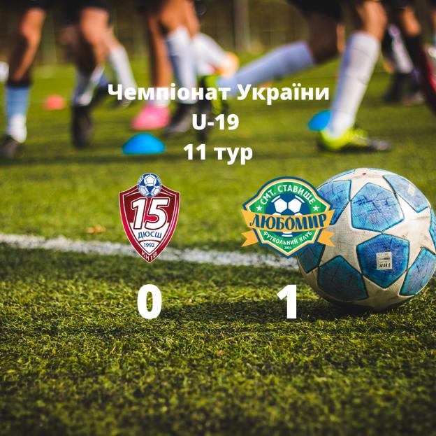 Чемпіонат України U-19 11 тур-3