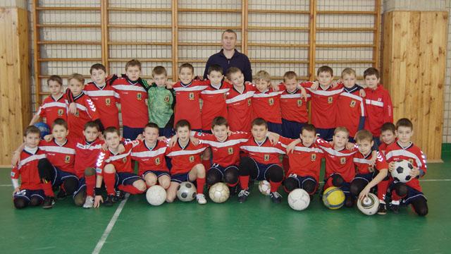 Фото команди 2001 р.н., тр. Сіденко А.В.